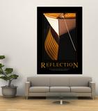 Reflexion Kunstdruck