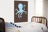 Brown Octopus Prints by  Avalisa