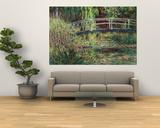 Waterlily Pond: Pink Harmony, 1900 Posters tekijänä Claude Monet