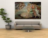 Venus fødsel, ca.1485 Posters af Sandro Botticelli