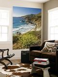 Cliffs Along Big Sur Coastline, Near Rocky Creek Bridge on Highway One Posters by Witold Skrypczak
