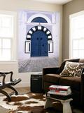 Blue Door, Sidi Bou Said, Tunisia Plakater af Jon Arnold