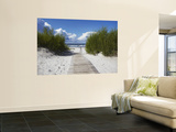 Boardwalk Leading to Beach, Liepaja, Latvia Plakater af Ian Trower