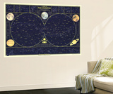 1957 Heavens Posters par  National Geographic Maps
