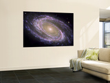 The Spiral Galaxy Known as Messier 81 Plakat