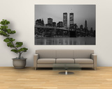 Brooklyn Bridge, Manhattan, New York City, New York State, USA Affiches