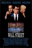 Wall Street Framed Canvas Print