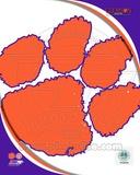 Clemson University Tigers Team Logo Photo