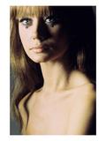 Glamour - June 1966 - Topless Model Premium Photographic Print by Franco Rubartelli