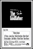 The Godfather Framed Canvas Print