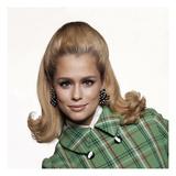Vogue - February 1967 Premium fotoprint van Bert Stern