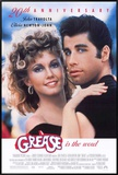 Grease Framed Canvas Print