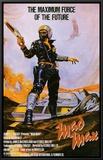 Mad Max Impressão em tela emoldurada