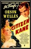 Citizen Kane Impressão em tela emoldurada