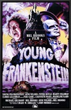 Young Frankenstein Framed Canvas Print