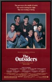 The Outsiders Framed Canvas Print