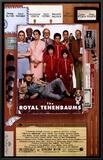 The Royal Tenenbaums Impressão em tela emoldurada
