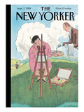 The New Yorker Cover - September 1, 1928 Giclee Print by Helen E. Hokinson