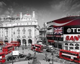 London-Piccadilly Circus Kunstdruck