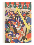 The New Yorker Cover - December 17, 1927 Premium Giclee Print by Theodore G. Haupt