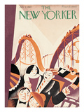 The New Yorker Cover - July 2, 1927 Exklusivt gicléetryck av Victor Bobritsky
