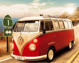 California Camper-Route One Poster
