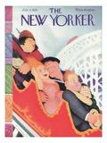 The New Yorker Cover - July 8, 1933 Exklusivt gicléetryck av William Cotton