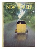 The New Yorker Cover - January 10, 1959 Impressão giclée por Garrett Price