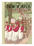 The New Yorker Cover - June 9, 1934 Giclee Print by Helen E. Hokinson