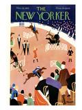 The New Yorker Cover - November 10, 1928 Premium-giclée-vedos tekijänä Theodore G. Haupt
