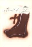 Pied marron Eksklusivudgaver af Antoni Tapies