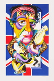 Keith Richards Limited Edition by Didier Chamizo