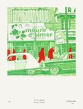 Boulevard Des ItaIIens : Mourir D'Aimer 限定版アートプリント : ジェラール・フロマンジャー