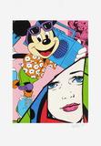 Mickey Limited Edition by  Erró (Gudmundur Gudmundsson)
