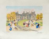 Paris, Le Jardin Du Luxembourg Collectable Print by Urbain Huchet