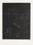 Disegno Di Uno Paesaggio Limited Edition av Valerio Adami