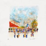 Paris, Le Fouquet'S Collectable Print by Urbain Huchet