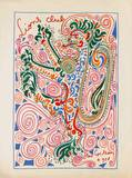 IIons Club Collectable Print by Jean Cocteau