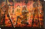 Bond Girls Sträckt kanvastryck av Marco Almera