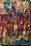 Combat Rock Kunst op gespannen canvas van Marco Almera