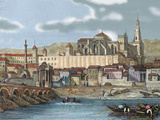 View of the City with the Mosque, Cordoba,  Andalusia, Spain Photographic Print by  Prisma Archivo