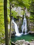Bish Bash Falls in Bish Bash Falls State Park in Mount Washington, Massachusetts, Usa Impressão fotográfica por Jerry & Marcy Monkman