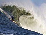 Mavericks Surf Competition 2010, Half Moon Bay, California, Usa Fotografisk trykk av Rebecca Jackrel