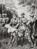 World War I (1914-1918). on April 5, 1917 the Usa Declares War on the Central Empires Photographic Print by  Prisma Archivo