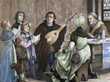 Martin Luther (Eisleben, 1483, Eisleben, 1546) Photographic Print by  Prisma Archivo