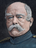 German Statesman. Proclamed Chancellor of the Empire in 1871 Photographic Print by  Prisma Archivo