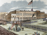 Public Execution of Murderers Joseph Hetherington and Philander Brace, 29 July 1856 Photographic Print by  Prisma Archivo