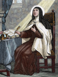 Teresa of Avila (1515-1582). Religious Reformer of the Carmelite Order by Capuz Photographic Print by  Prisma Archivo