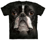 Boston Terrier Face Tshirts