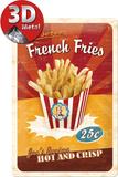 French Fries Blikkskilt
